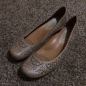 Earthies Flats Shoes 7.5 Tan